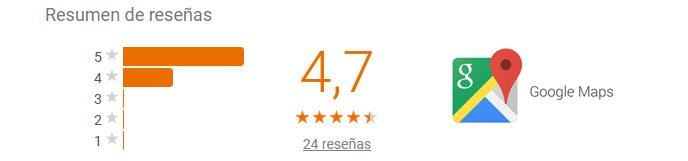 mira las opiniones de los clientes de reformas rober en nuuestro perfil de Google Maps