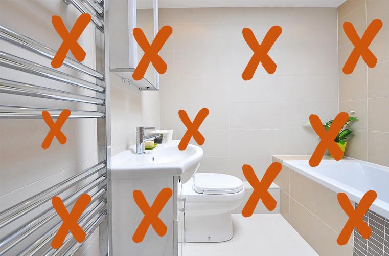 ¿Vas a reformar tu baño en Donostia? En reformas rober te damos 10 consejos a evitar