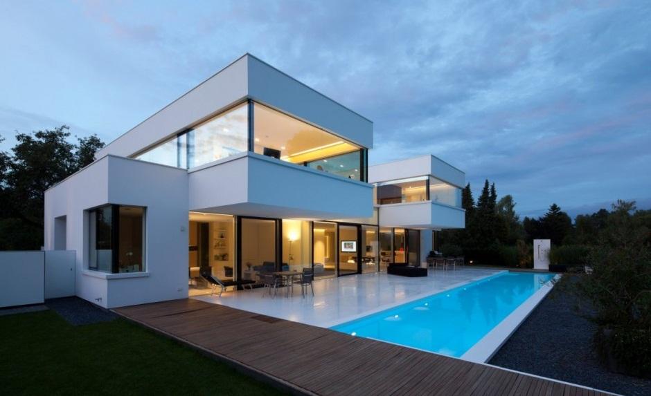 Casas de lujo que te dar n ideas para la reforma de tu piso for Casa minimalista con piscina