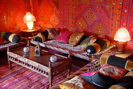 Para los amantes del estilo arabe de decoracion, un articulo para que vivas el estilo árabe en tu hogar