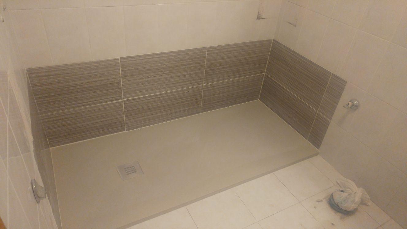 Instalar un plato de ducha instalacion plato de ducha resigres with instalar un plato de ducha - Como colocar un plato de ducha de resina ...
